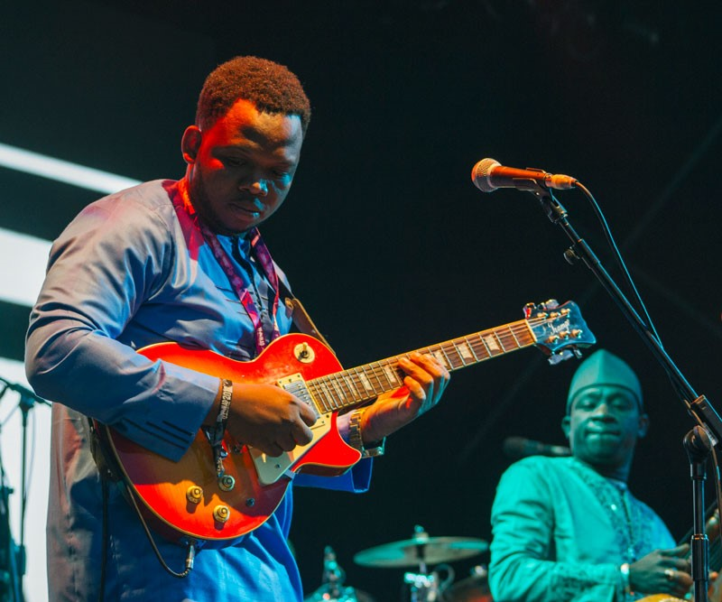 Orchestra Baobab at WOMAD 2017 (photo: Tom Askew-Miller)