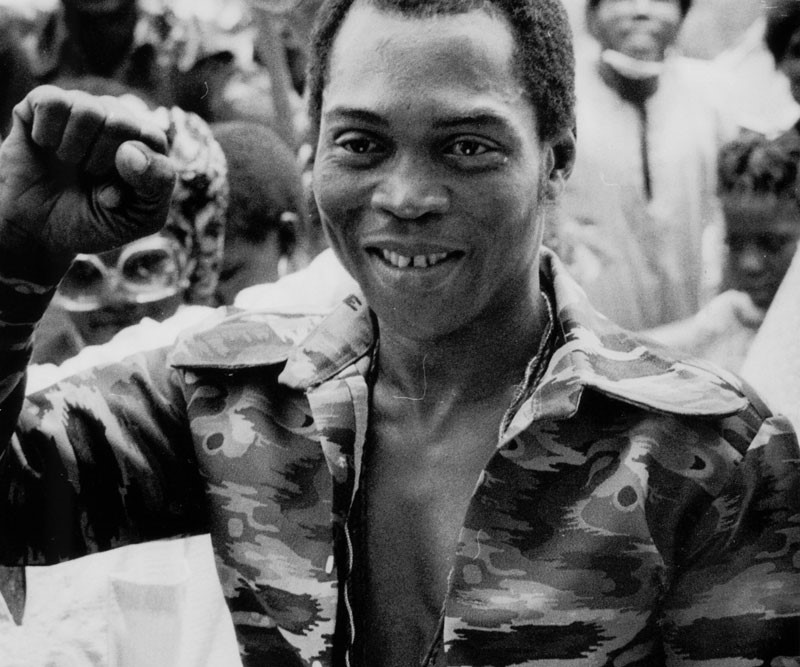 Fela Kuti (photo: Janet Griffiths)